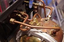 copper pipes faema lambro