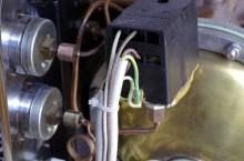 Faema e61 p-stat wiring