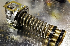 Stainless steel spring on Velox group