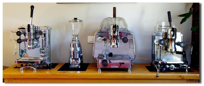 Machines à café anceinnes