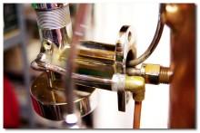 Machine à café ancienne