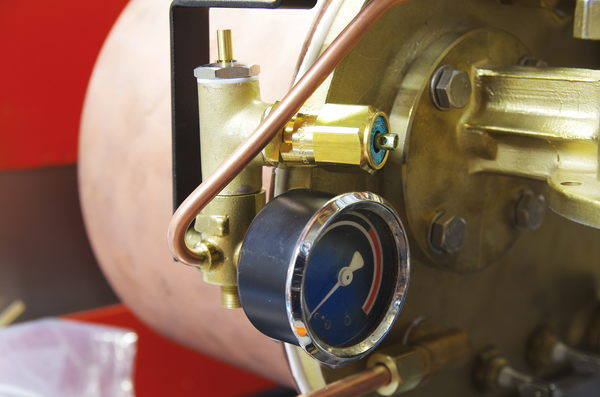 Steam valve on Prestina